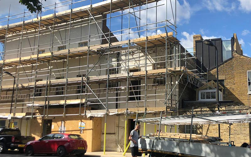 Commercial Scaffolding London Essex