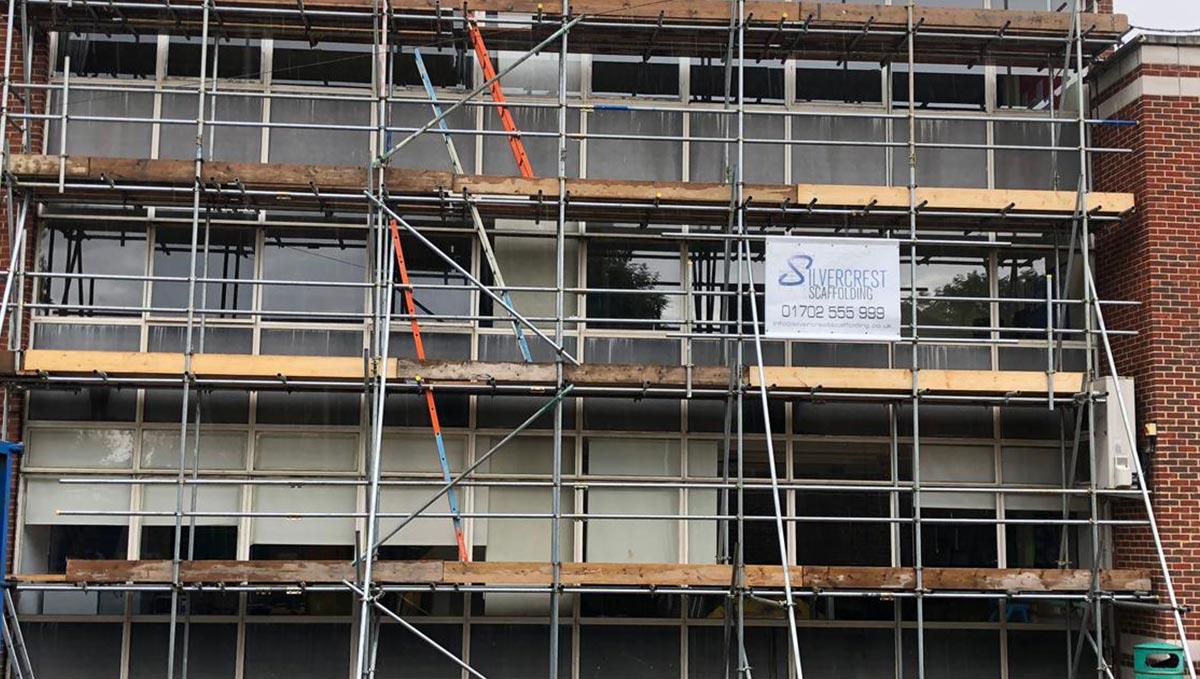 Scaffolding House Bungalow London Essex